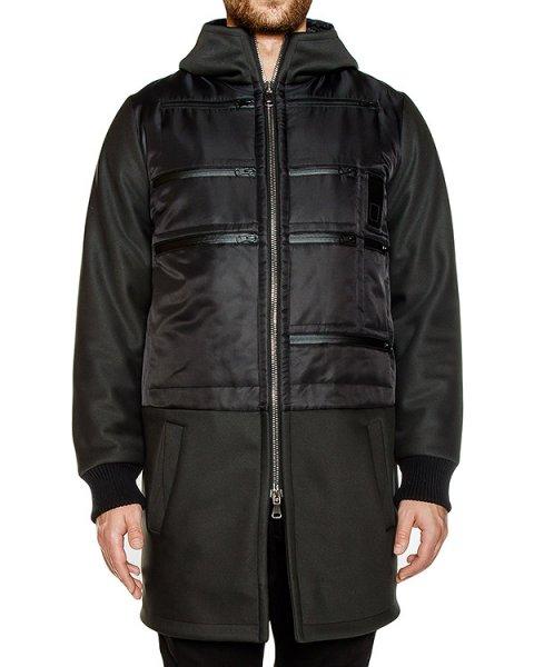 пальто из водонепроницаемой ткани артикул OWRPRK02 марки Letasca купить за 46600 руб.