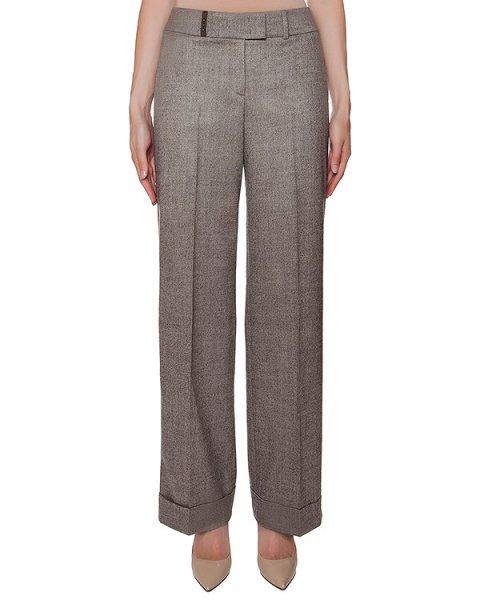 брюки прямого кроя из тонкой вирджинской шерсти артикул P04916 марки Peserico купить за 32400 руб.
