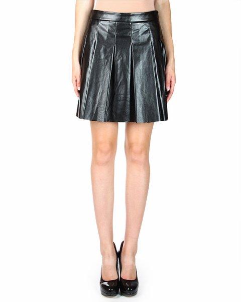 юбка А-силуэта, драпированная складками артикул P142C414FL марки Derek Lam купить за 15500 руб.