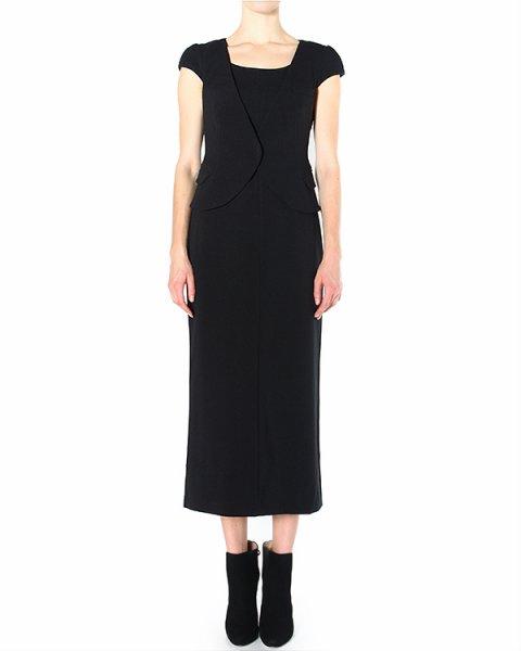 платье с имитацией надетого поверх жилета артикул P2A02T марки EMPORIO ARMANI купить за 24500 руб.