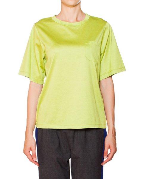 футболка из эластичного хлопка артикул P5I132 марки SEMI-COUTURE купить за 5000 руб.