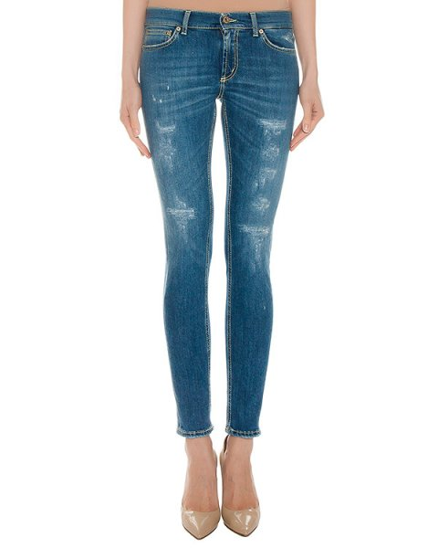 джинсы  артикул P990 марки DONDUP купить за 16000 руб.
