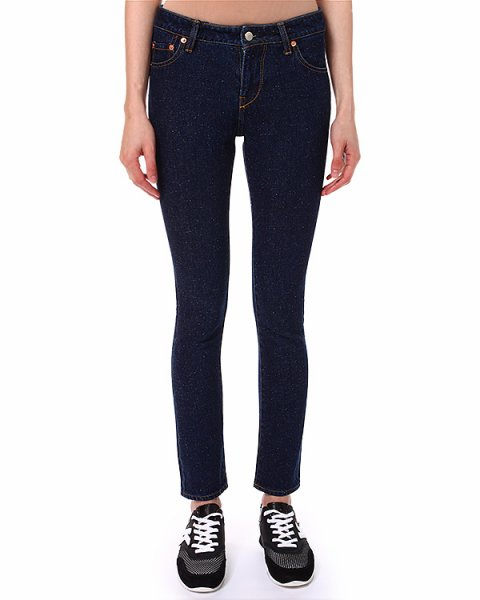 джинсы  артикул PA08131 марки Maison Kitsune купить за 6900 руб.