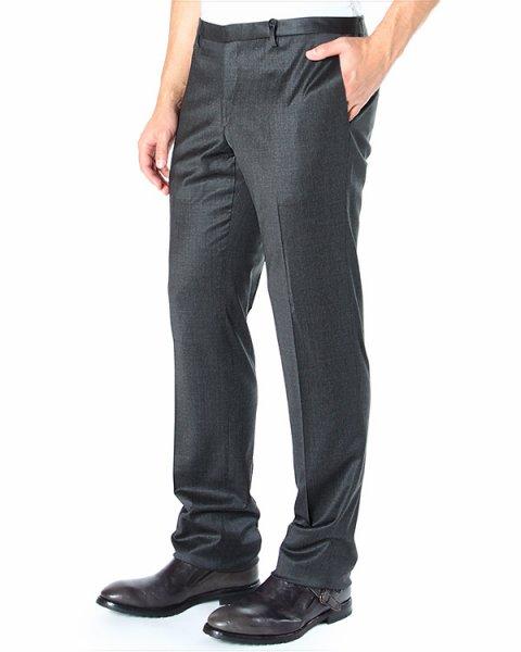 брюки прямого кроя, со средней посадкой артикул PA50F марки Brian Dales купить за 5900 руб.
