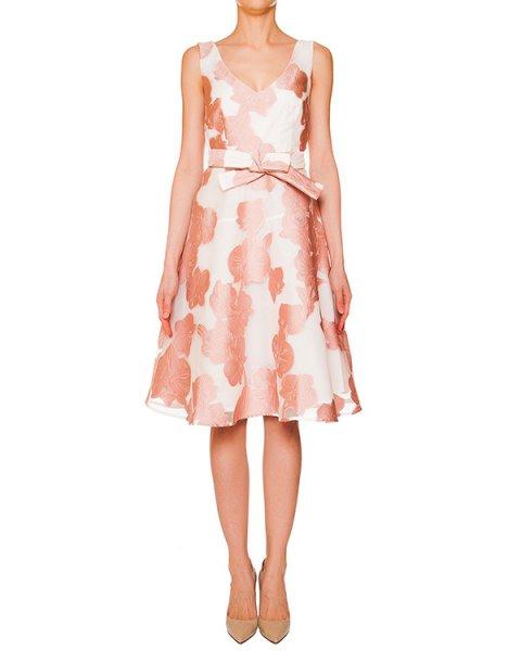 платье с вышитым цветочным рисунком артикул PARAMORE720121 марки P.A.R.O.S.H. купить за 24300 руб.