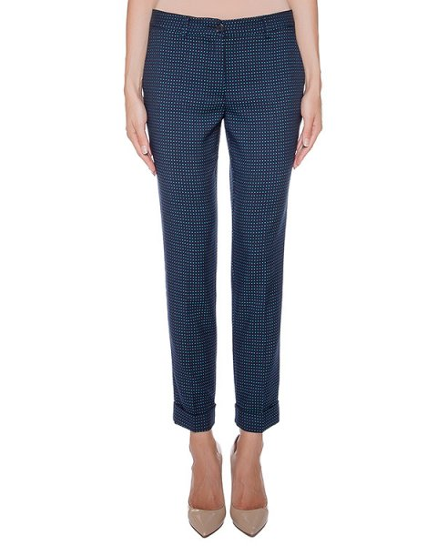 брюки прямого кроя с узором артикул PAZ230123 марки P.A.R.O.S.H. купить за 17700 руб.