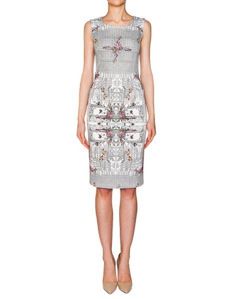 платье из тонкого неопрена с ярким принтом и орнаментом артикул PE16A115 марки Piccione piccione купить за 13100 руб.
