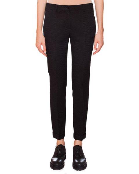 брюки классического прямого кроя из плотной ткани с узором артикул PEDRO230008 марки P.A.R.O.S.H. купить за 7800 руб.