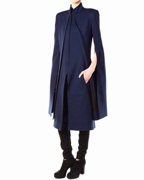 пальто кейп из плотной шерсти артикул PH13F09015 марки GARETH PUGH купить за 45600 руб.