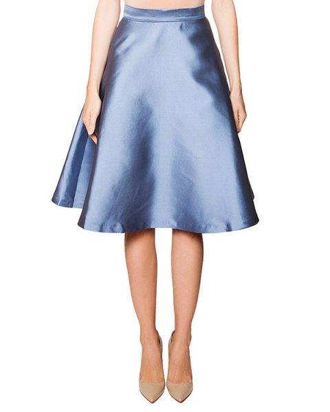 юбка расклешенного кроя из плотного шелкового твила артикул PICABIA620100 марки P.A.R.O.S.H. купить за 12300 руб.