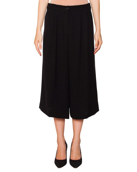 брюки широкие укороченные из плотной ткани артикул PIRATA230055 марки P.A.R.O.S.H. купить за 6600 руб.