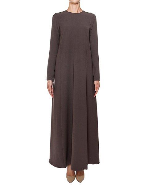 платье в пол приталенного кроя из плотной ткани артикул PIRATAX700003 марки P.A.R.O.S.H. купить за 26800 руб.