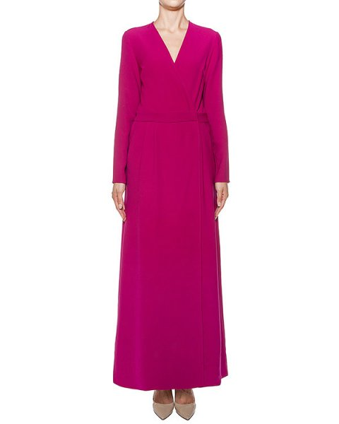 платье в пол с глубоким вырезом артикул PIRATAX721004 марки P.A.R.O.S.H. купить за 26200 руб.