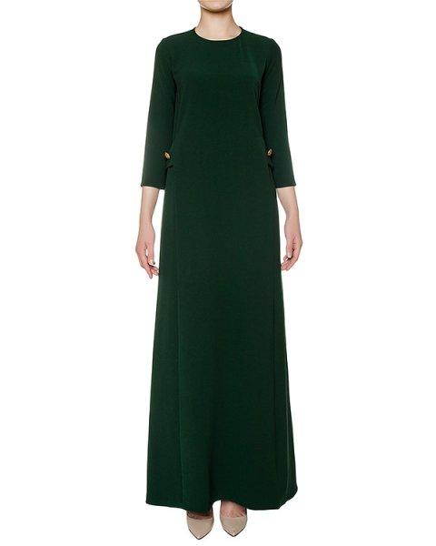 платье слегка приталенного кроя из плотной ткани артикул PIRATAX721065 марки P.A.R.O.S.H. купить за 27900 руб.