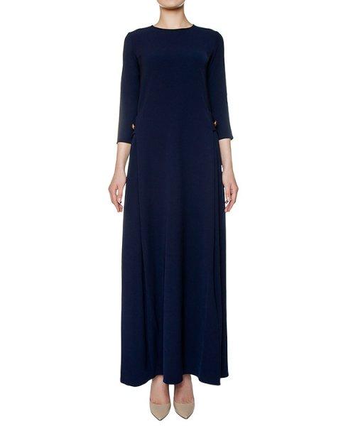 платье слегка приталенного кроя из плотной ткани артикул PIRATAX721070 марки P.A.R.O.S.H. купить за 35300 руб.