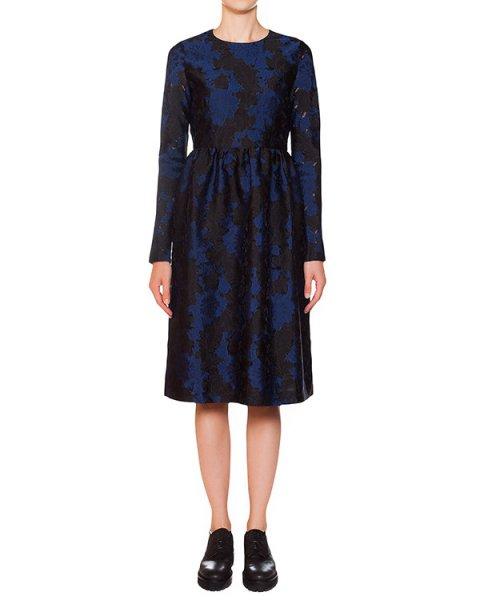 платье с фактурным цветочным узором артикул PROUST720250 марки P.A.R.O.S.H. купить за 20700 руб.