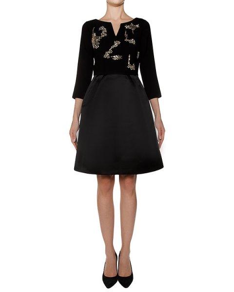 платье украшено крупными кристаллами артикул R205 марки Dice Kayek купить за 119300 руб.