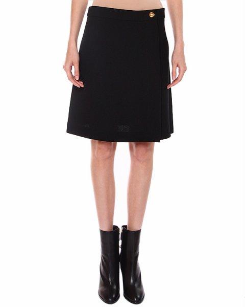 юбка скроенная на запах, длиной чуть выше колена артикул RA0114 марки CHEAP & CHIC купить за 10600 руб.