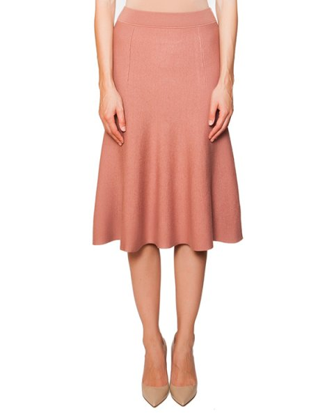 юбка из мягкого трикотажа артикул RAMY560515 марки P.A.R.O.S.H. купить за 7300 руб.