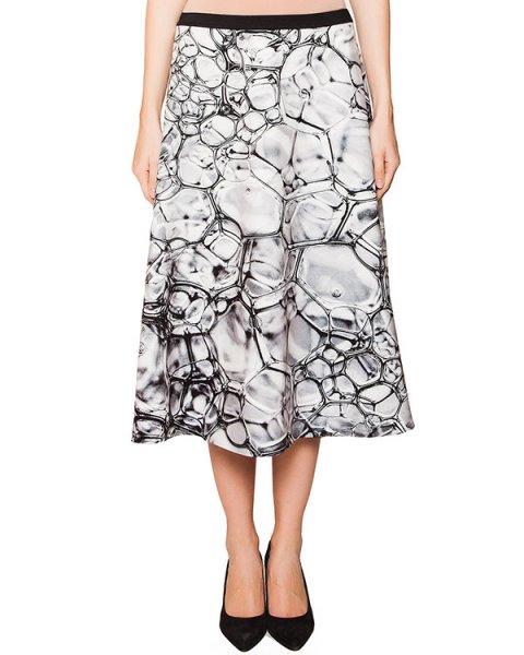 юбка из неопрена с абстрактным принтом артикул RCGY285/20 марки ROQUE ILARIA NISTRI купить за 19100 руб.