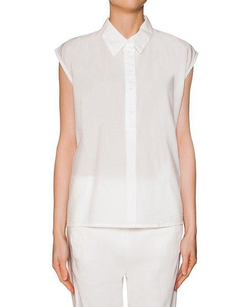 блуза свободного кроя из мягкой легкой ткани артикул RDCY324/8 марки ROQUE ILARIA NISTRI купить за 15400 руб.