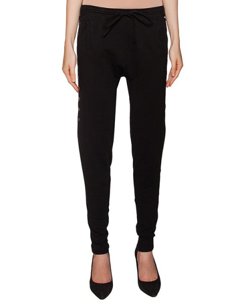 брюки в спортивном стиле из мягкого эластичного хлопка артикул RDPY424/4 марки ROQUE ILARIA NISTRI купить за 14000 руб.