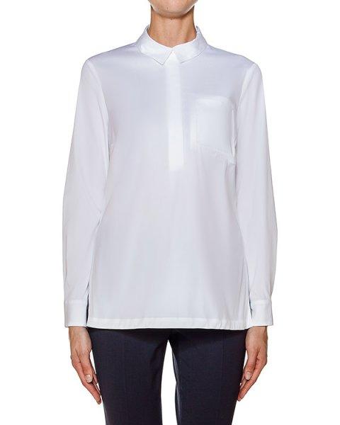 блуза прямого кроя из тонкого хлопка артикул S06611 марки Peserico купить за 20200 руб.