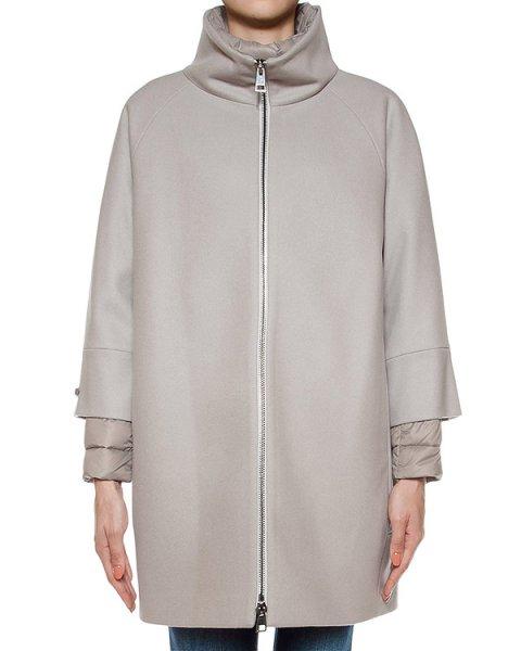 двойка пальто из шерсти + стеганая куртка артикул S07241C2 марки Peserico купить за 69100 руб.