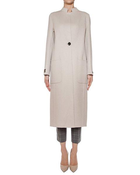пальто из плотной шерсти артикул S20357 марки Peserico купить за 127900 руб.