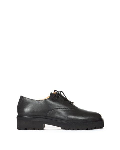 ботинки gentleman-style на высокой подошве артикул S40WQ0018 марки MM6 Martin Margiela купить за 15000 руб.