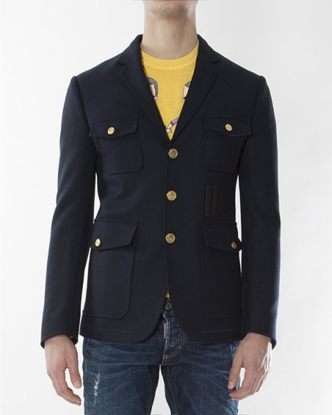 пиджак  артикул S71BN0424 марки DSQUARED купить за 34100 руб.