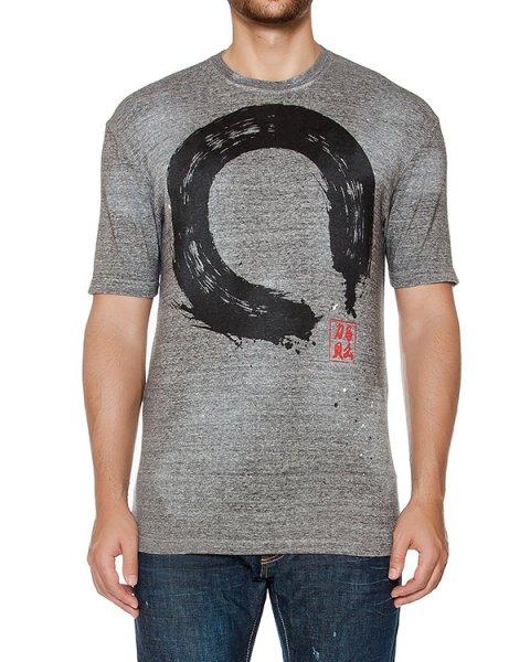 футболка из хлопкового трикотажа с принтом артикул S71GD0431 марки DSQUARED купить за 19800 руб.