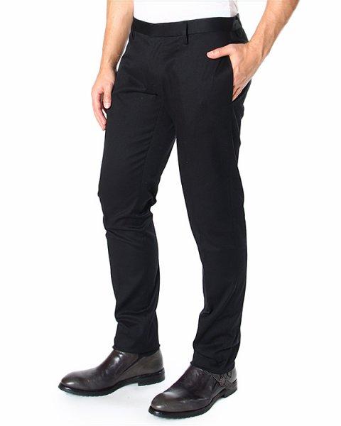 брюки зауженного кроя, из плотного хлопка артикул S71KA0785D марки DSQUARED купить за 11600 руб.