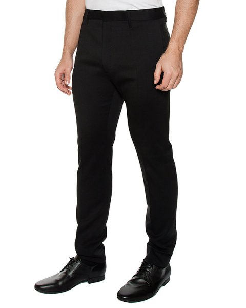 брюки классического прямого кроя артикул S71KA0941 марки DSQUARED купить за 38600 руб.