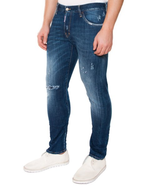 джинсы  артикул S71LA0878 марки DSQUARED купить за 11900 руб.
