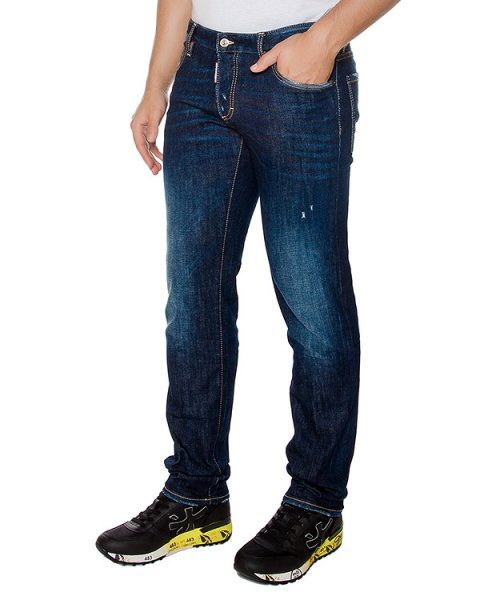 джинсы  артикул S71LB0215 марки DSQUARED купить за 18500 руб.