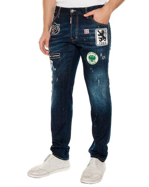 джинсы  артикул S71LB0245 марки DSQUARED купить за 45000 руб.