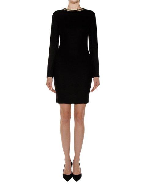 платье из шерстяного трикотажа артикул S72CU0376 марки DSQUARED купить за 35200 руб.