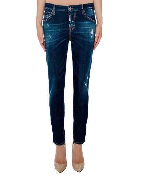 джинсы  артикул S72LA0873 марки DSQUARED купить за 26400 руб.