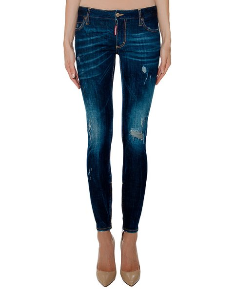 джинсы  артикул S72LA0878 марки DSQUARED купить за 33000 руб.