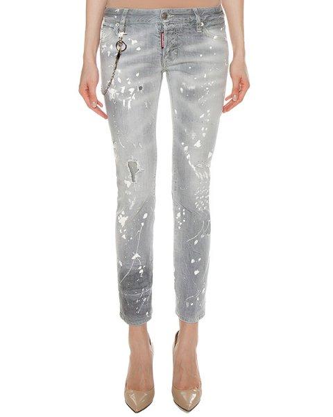 джинсы  артикул S72LA0944 марки DSQUARED купить за 37400 руб.