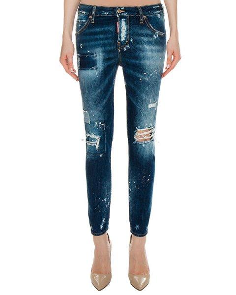 джинсы  артикул S72LA0958 марки DSQUARED купить за 29900 руб.