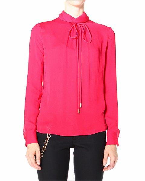 блуза прямого кроя, с застежкой-каплей на спине артикул S72NC0465 марки DSQUARED купить за 20400 руб.