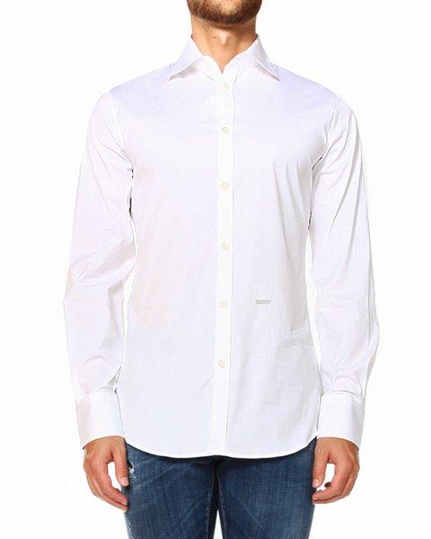 рубашка приталенная с воротником