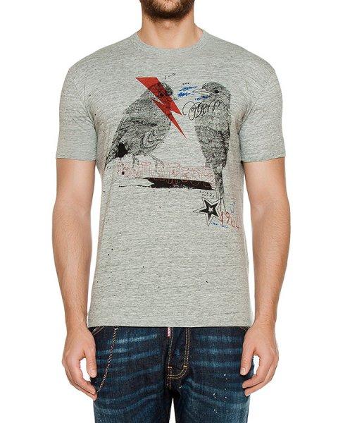 футболка  артикул S74GD0185 марки DSQUARED купить за 15800 руб.