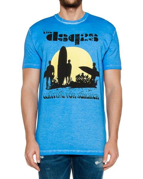 футболка  артикул S74GD0197 марки DSQUARED купить за 11200 руб.