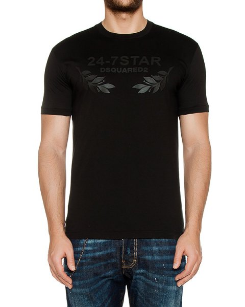 футболка  артикул S74GD0232 марки DSQUARED купить за 10400 руб.