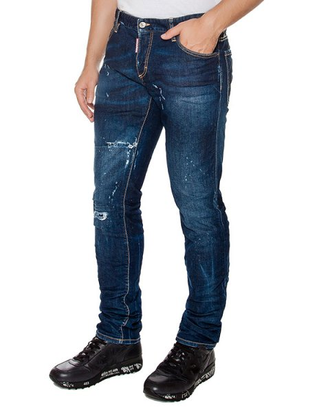 джинсы  артикул S74LB0012 марки DSQUARED купить за 24600 руб.