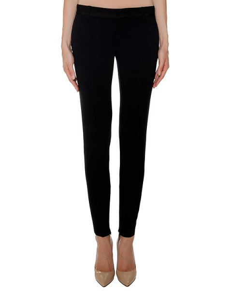 брюки из плотной эластичной ткани артикул S75KA0676 марки DSQUARED купить за 39600 руб.