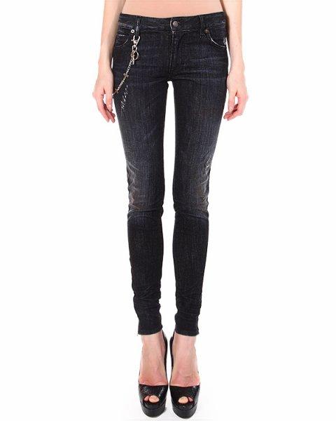 джинсы средней посадки модель superslim артикул S75LA0554 марки DSQUARED купить за 15500 руб.